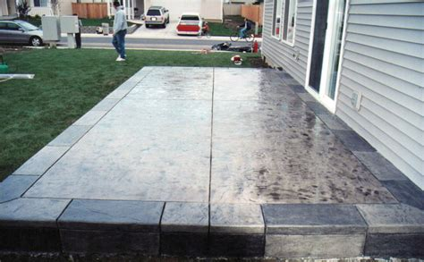 outdoor concrete patio designs concrete patio designs newsonair org