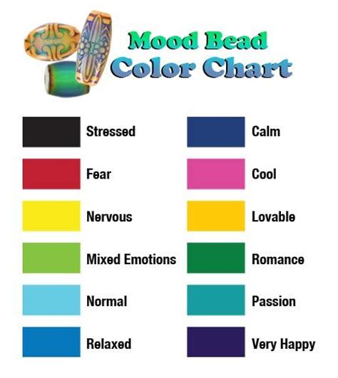 mood colors meaning mood ring color meanings mood ring colors and meanings