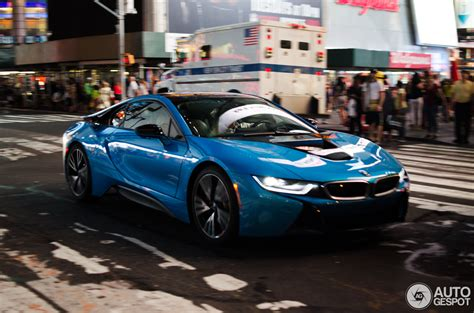 Bmw Nyc by Bmw I8 Spotted For The Time In New York Autoevolution