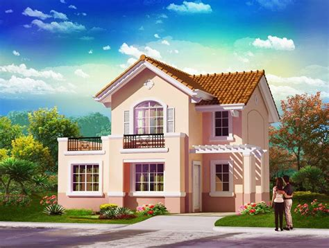 philippine house design with floor plan home interior