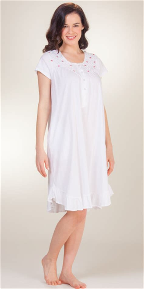 cotton knit nightgowns serene comfort
