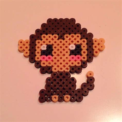 Hama Perler Monkey Hama Perler