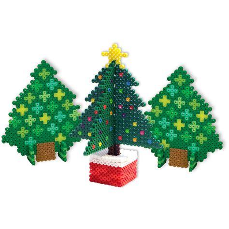 3d perler 3d trees perler