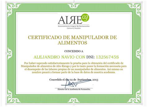 manipulador de alimentos normativa curso carnet y certificado de manipulador de alimentos 8