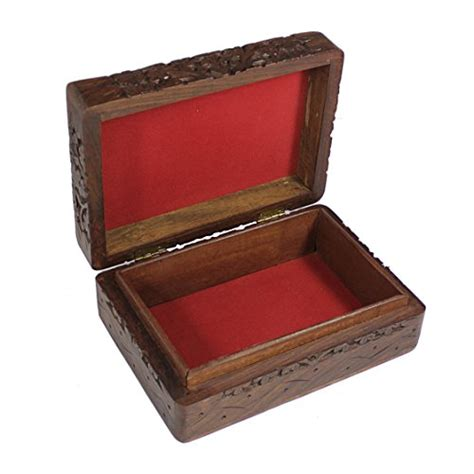 decorative jewelry boxes ideas handmade decorative jewelry box wooden storage keepsake