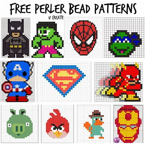 perler designs perler bead patterns u create