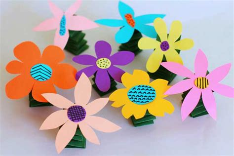 pbs crafts y flowers crafts for pbs parents
