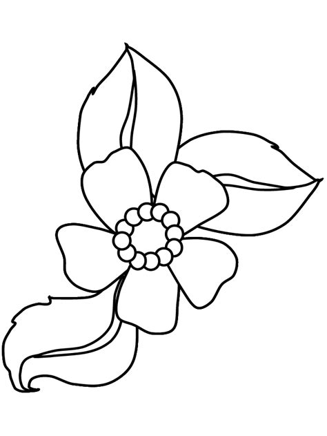 coloring book pictures of flowers flower coloring book pages flower coloring page