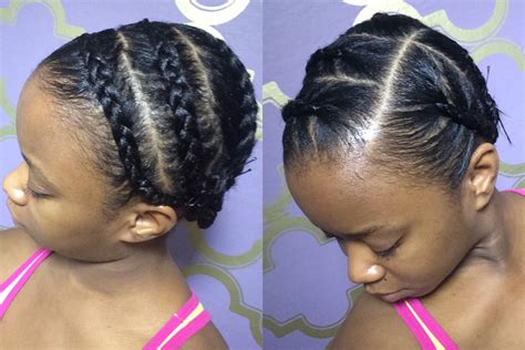how to put on braided hair protective braids wigs tutorial