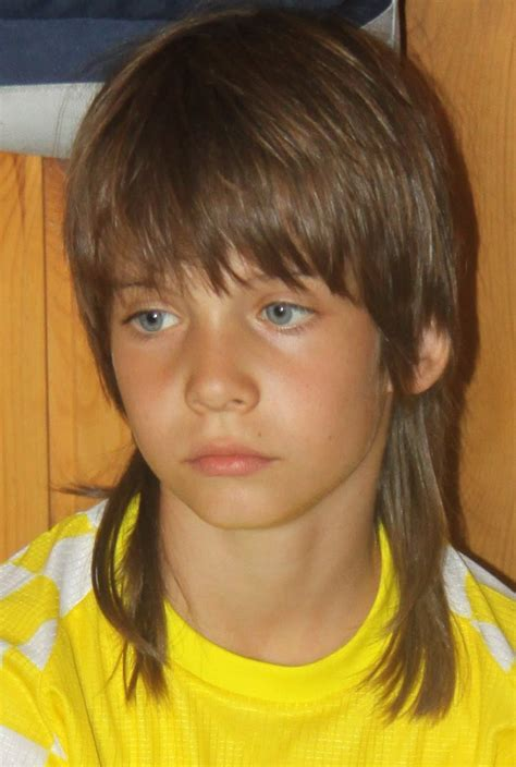 mullet haircut for boys boys with mullet or rattail hairstyles 2010 07 25