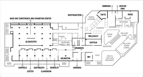 hynes convention center floor plan boston convention center floor plan 28 images boston