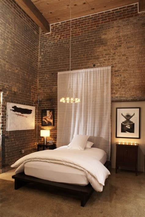 exposed brick bedroom 20 modern bedroom designs with exposed brick walls rilane