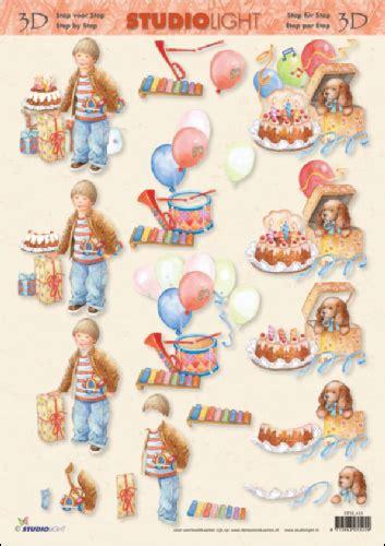 step by step decoupage child s birthday 3d step by step decoupage 418