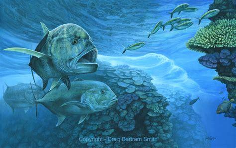 acrylic painting underwater craig bertram smith