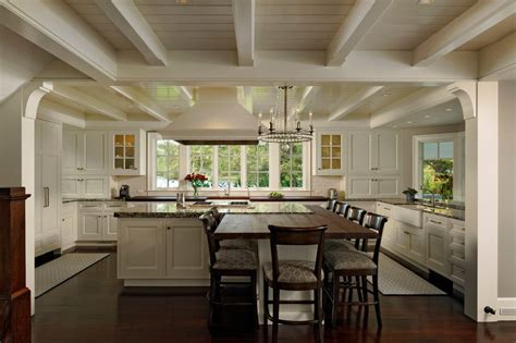 kitchen window trim exposed antique farmhouse ceiling kitchen traditional with