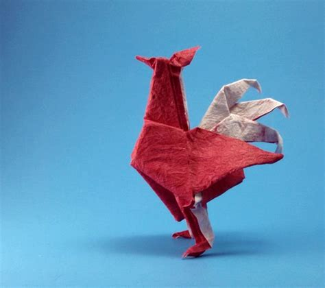 origami hen pheasant montroll gilad s origami page