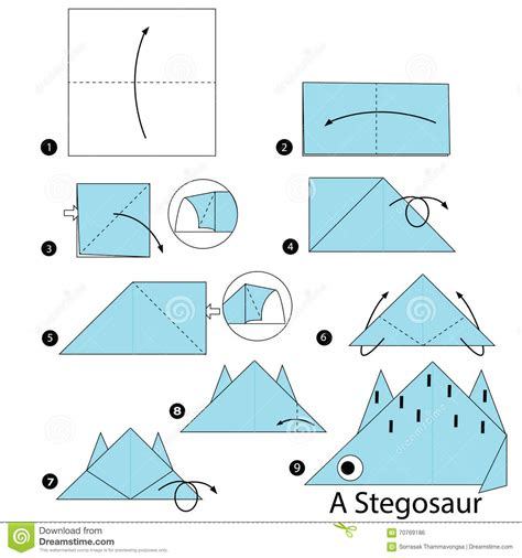 how to make origami dinosaur step by step how to make origami a dinosaur
