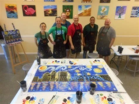 paint nite jacksonville painting with a twist ponte vedra fl business information