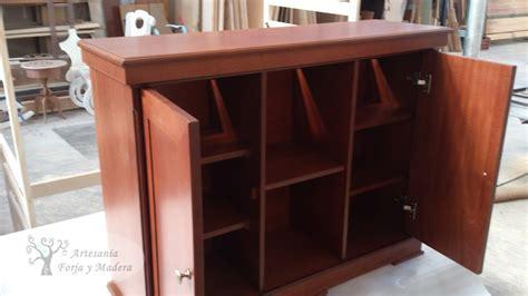 mueble para acuarios artesan 237 a forja y madera