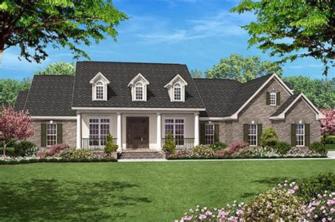 single story house plans 2500 sq ft colonial style house plan 4 beds 3 5 baths 2500 sq ft