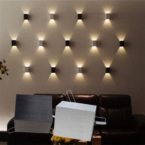 lights on bedroom wall 3w led square wall l porch walkway bedroom