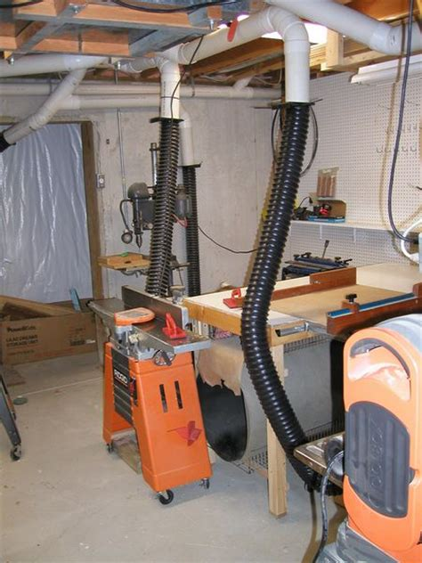 woodworking vacuum system woodworking shop dust collection system
