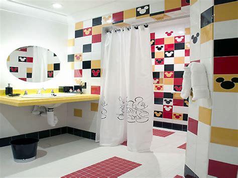 mickey mouse bathroom fixtures bathroom d 233 cor ideas for small bathroom trellischicago
