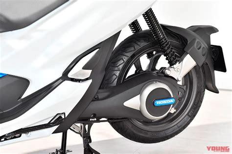 Pcx 2018 Ganti Ban by Skuter Listrik Honda Pcx Electric Ev Hadir Di Tokyo Motor
