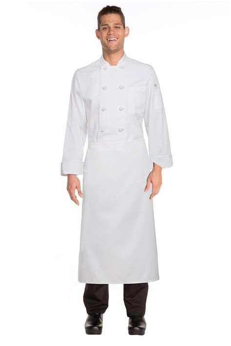 Kitchen Islands Clearance chef works full length white chefs apron