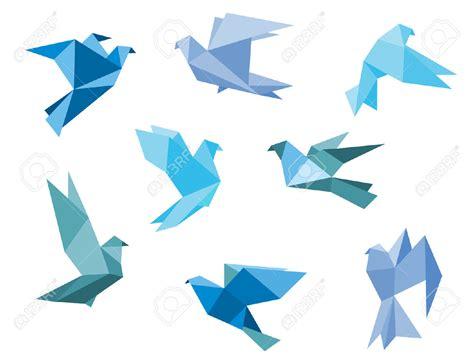 origami of bird geometric bird buscar con dibujos de pajaros