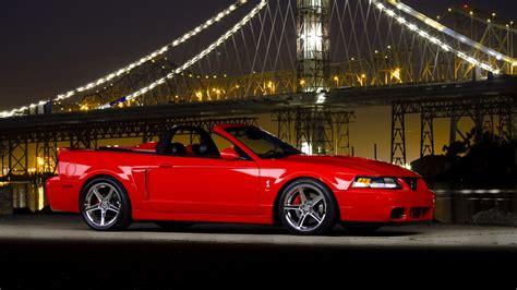 1600 X 900 Car Wallpapers by Ford Mustang Cobra Supercar Bridge Wallpaper