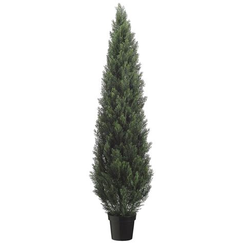 outdoor artificial tree 6 foot artificial outdoor cedar tree potted 6ftced st