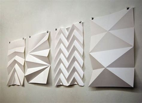 paper folding craft 25 best ideas about origami wall on paper
