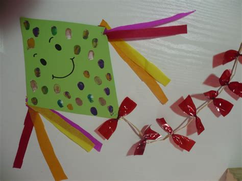 kite crafts for faced kite family crafts