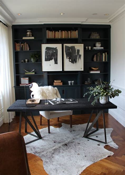 home office black desk 1000 ideas about black office on drafting