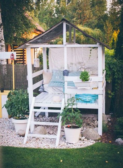 outside garden ideas 25 best ideas about outdoor playhouses on