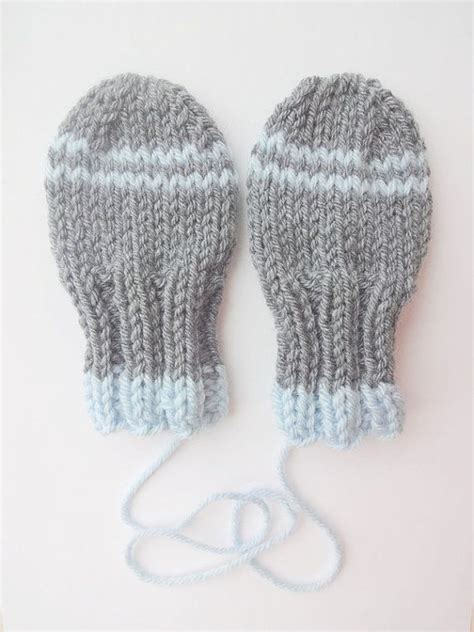 knitting pattern baby mittens thumbless thumbless baby mittens knitting pattern instant