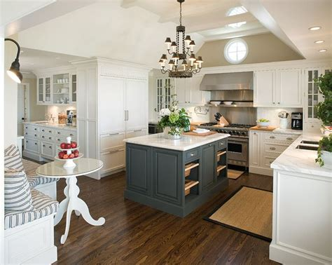 accent color for white and gray kitchen 20 stylish ways to work with gray kitchen cabinets