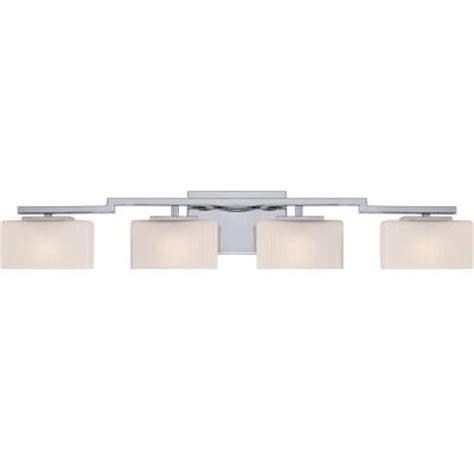 home depot bathroom lights illumina direct dalea 4 light polished chrome bath vanity