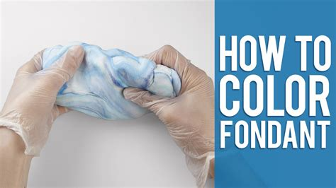how to color in learn how to color fondant 2 easy ways
