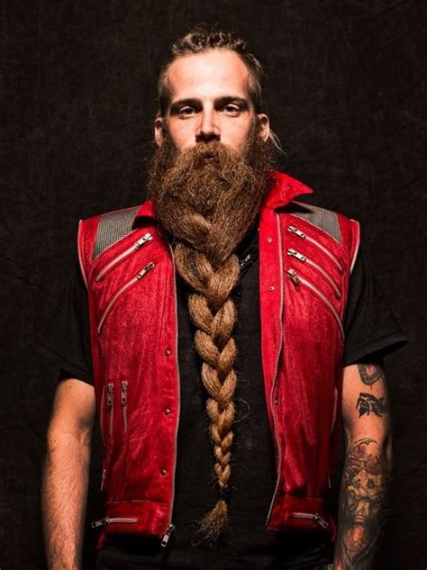 beard braid epic braided beard beards
