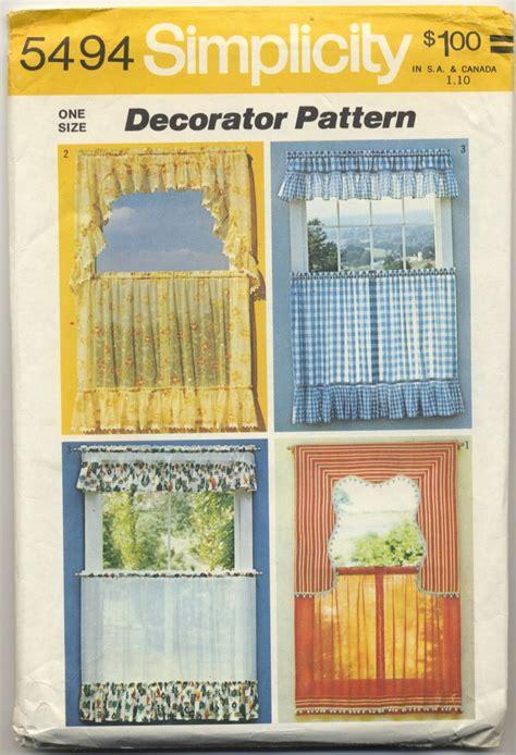 kitchen curtain sewing patterns kitchen curtain patterns simplicity curtain menzilperde net