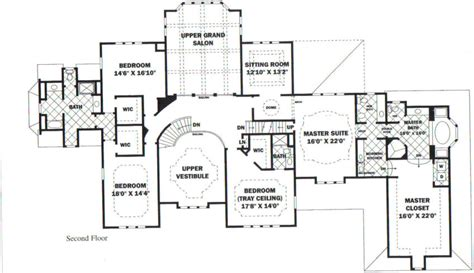 mansion home plans floor plan grove plantation bed and breakfast