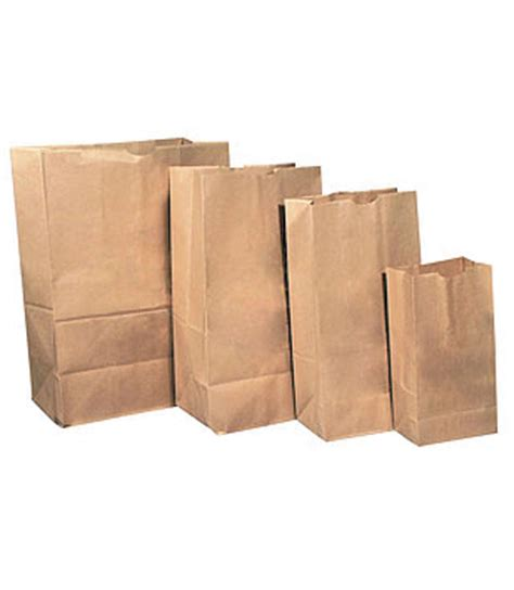 paper bags craft brown paper bags pkt 50 materials craft graphic