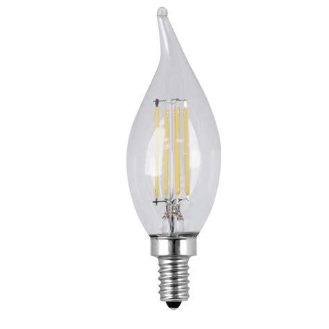 led light bulbs candelabra base 60w ge 60w equivalent daylight ca10 bent tip candelabra base