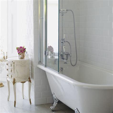 freestanding bath shower bath burlington hton shower bath 150 x 75cm lh