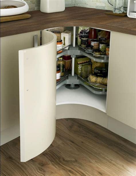kitchen corner unit concave curved base unit with premium corner carousel