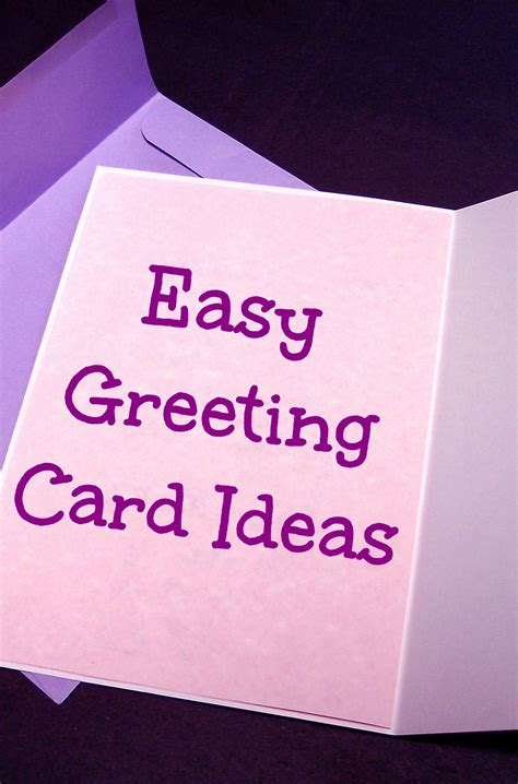 ideas for greeting cards easy greeting card ideas i like it frantic