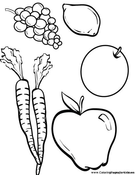 cornucopia vegetables coloring page sketch coloring page
