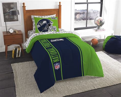 nfl seattle seahawks size bed in a bag buy at team